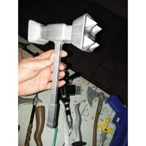 Image of Fortnite Props to 3D Print: Doomhammer
