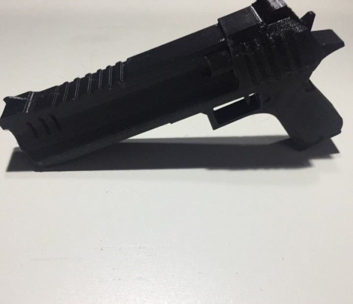 Image of Fortnite Props to 3D Print: Hand Cannon