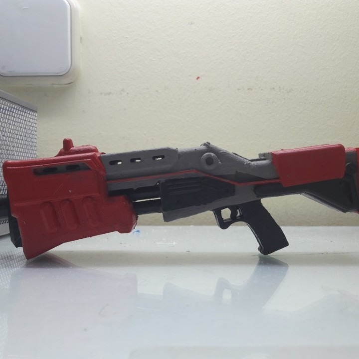 Image of Fortnite Props to 3D Print: Tactical Shotgun