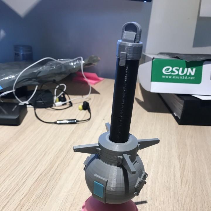 Image of Fortnite Props to 3D Print: Clinger Grenade