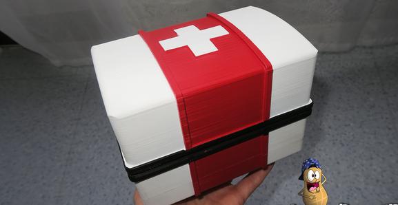 Image of Fortnite Props to 3D Print: Medi Kit Box