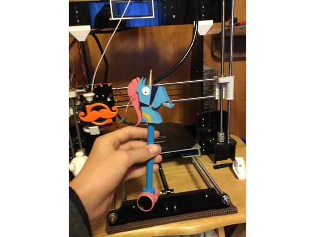 Image of Fortnite Props to 3D Print: Rainbow Smash Harvesting Tool