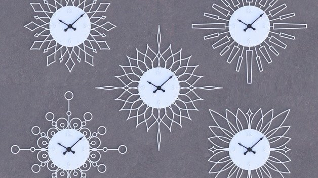 [Project] Design & 3D Print a Customized Sunburst Clock | All3DP