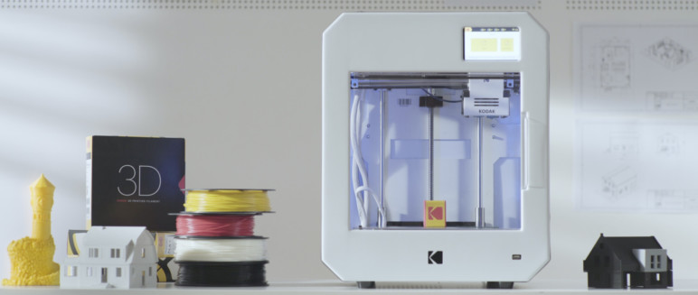 Image of Kodak Portrait 3D Printer – Review the Specs: Specifications