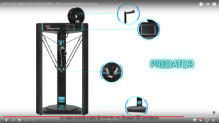 Featured image of Anycubic Predator: Anycubic Hints at a New Big Delta Printer
