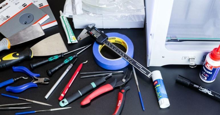3D printing tools.