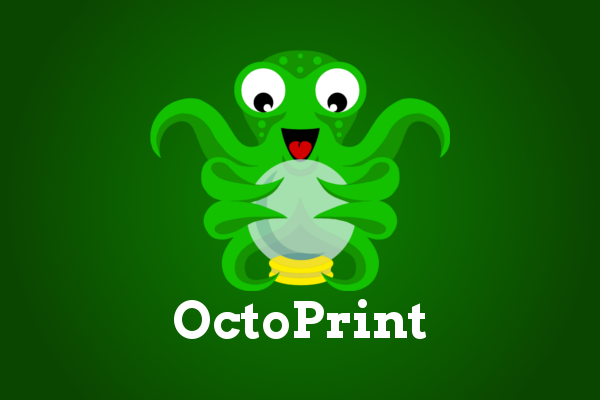 The official OctoPrint mascot.