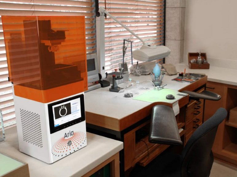 Image of Resin (LCD/DLP/SLA) 3D Printer: EnvisionTec Aria