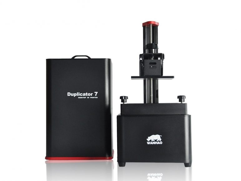 Image of Resin (LCD/DLP/SLA) 3D Printer: Wanhao Duplicator 7