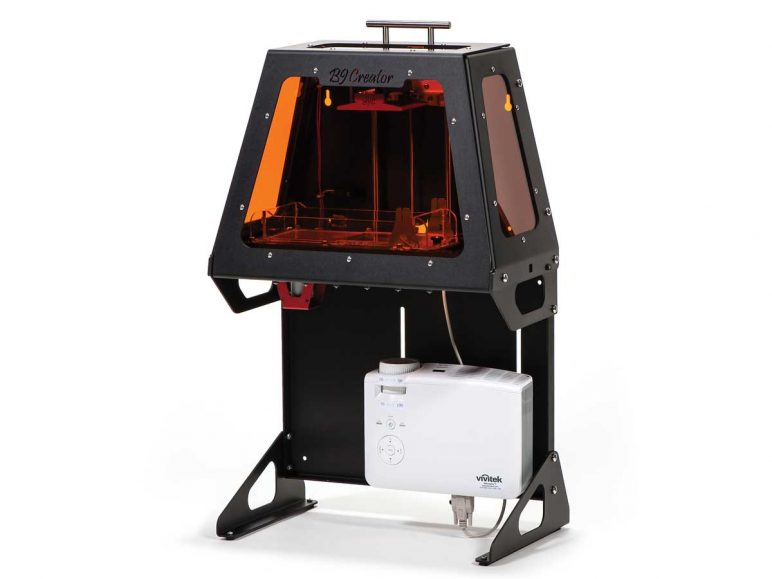 Image of Resin (LCD/DLP/SLA) 3D Printer: B9Creations B9Creator v1.2