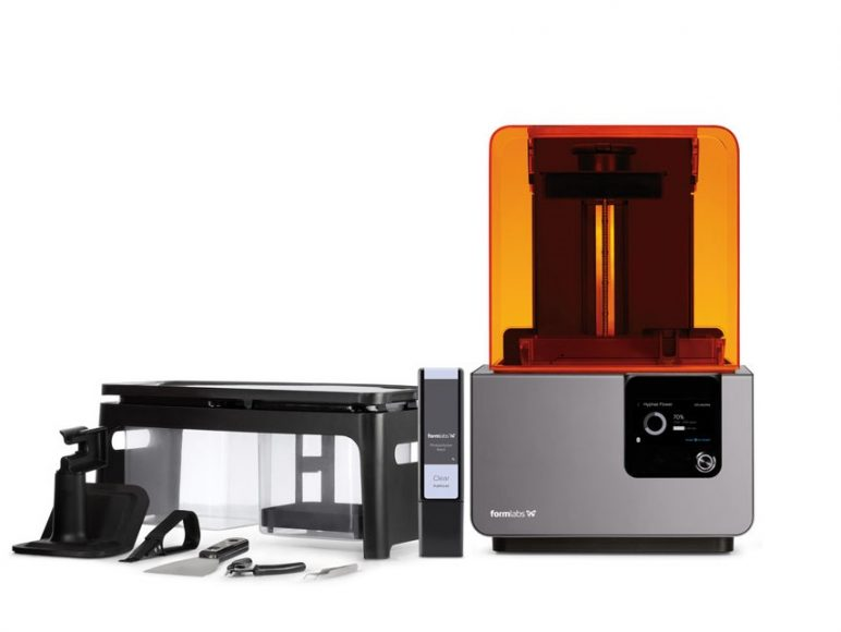 Image of Resin (LCD/DLP/SLA) 3D Printer: Formlabs Form 2