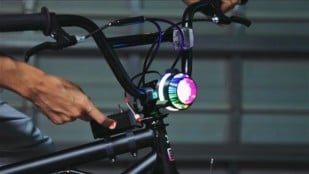 Featured image of Weekend Project: NeoPixel Bike Light