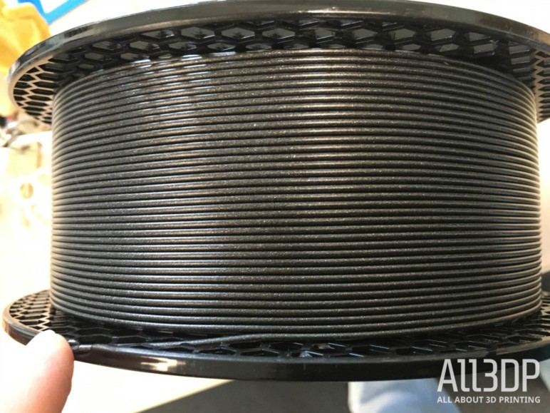 Image of Prusament PLA Prusa Galaxy Black – Filament Review: What's Special?