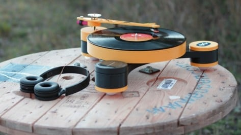 Featured image of Lenco-MD is World's First 3D Printed Record Player Now Available on Kickstarter