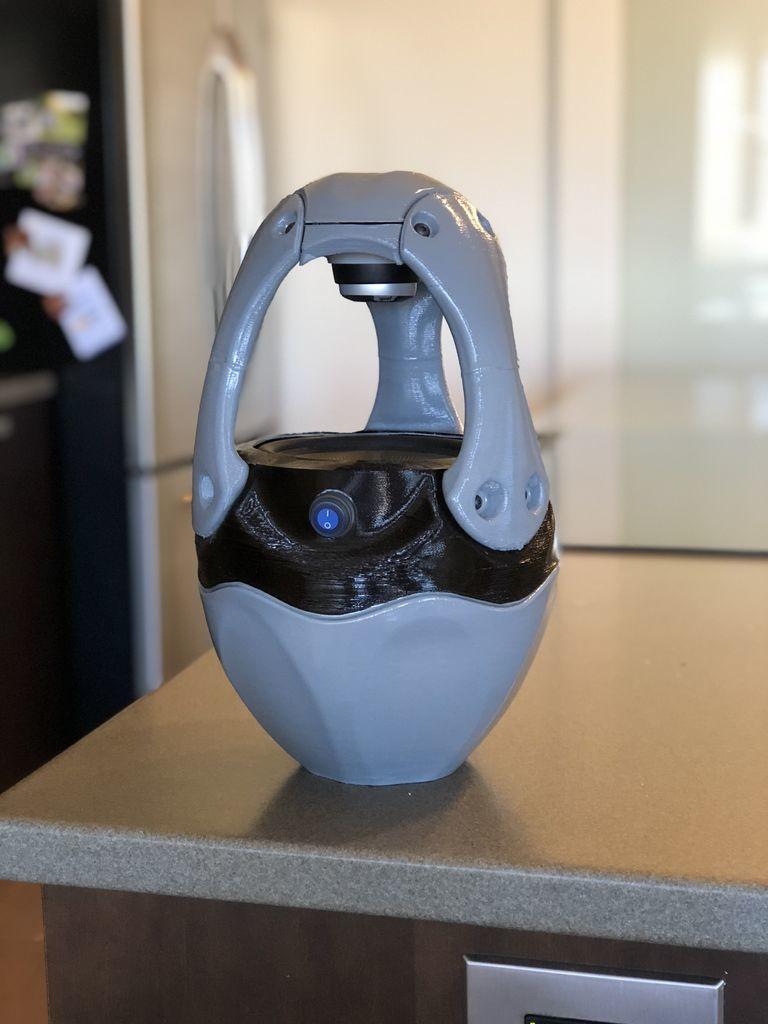 BryantM's portable floating speaker.