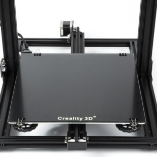 Product image of Creality Silicon Carbon Tempered Glass Build Plate