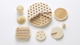 Featured image of Canon Announces 3D Printing Technology and Material for Highly Accurate Ceramic Parts