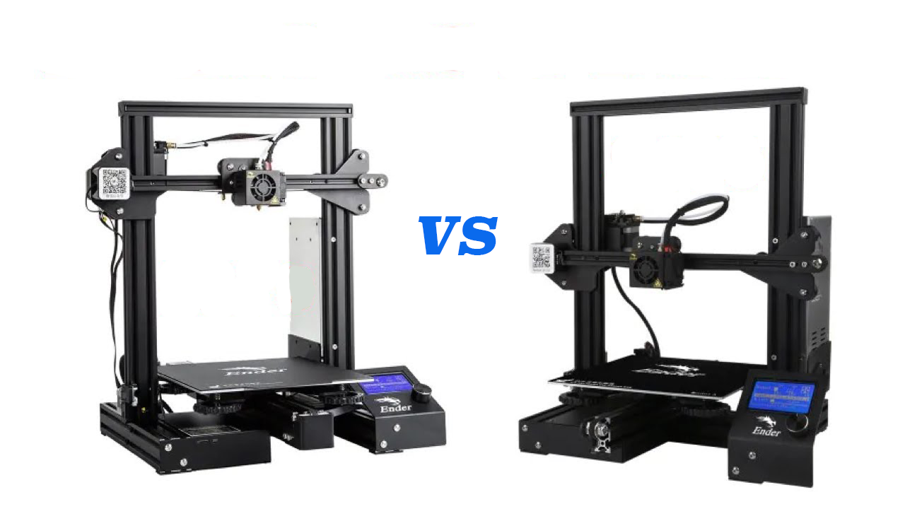 Ender 3 vs Ender 3 Pro vs Ender-3X: The Differences | All3DP
