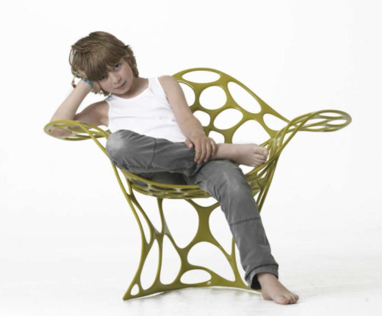 Peter Donders' 3D printed chair.