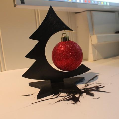 Image of 3D Printed Christmas Decorations: Desk Deco Christmas Tree