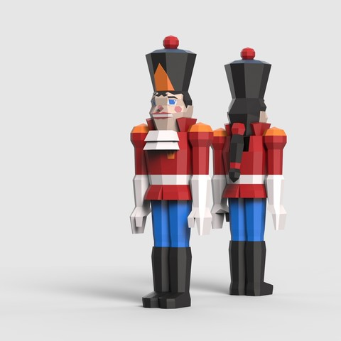 Image of 3D Printed Christmas Decorations: Nutcracker