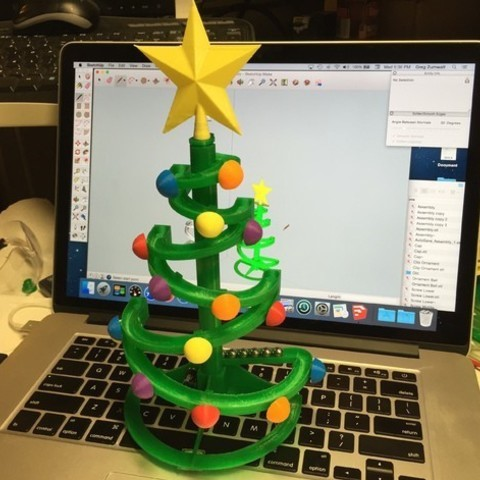 30 Festive Christmas Decorations You Can 3d Print At Home All3dp