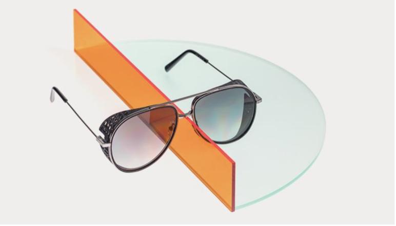 3D printed glasses from Italian company Safilo.