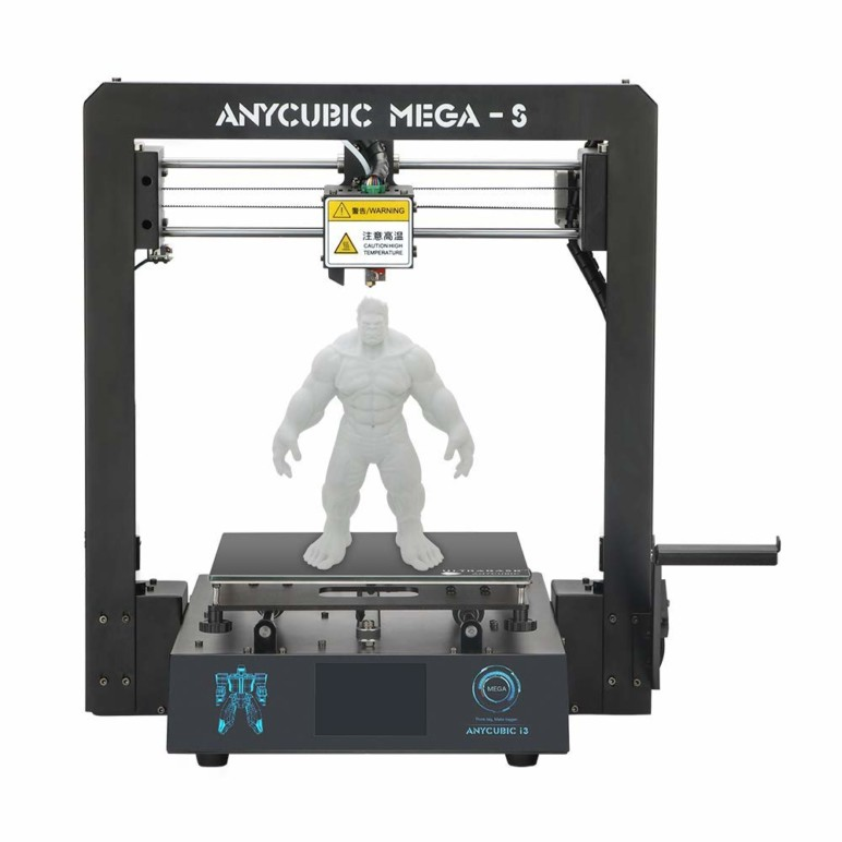 Image of 2019 Anycubic Mega-S – Review the Specs of this 3D Printer: Technical Specifications