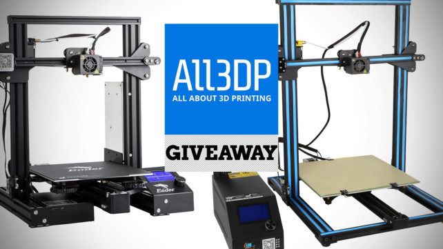 Featured image of [Giveaway] Win a Creality Ender-3 Pro or CR-10S!