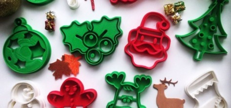 Featured image of 10 Christmas Cookie Cutters to 3D Print