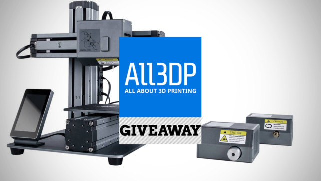 Featured image of [Giveaway] Win a Snapmaker All-in-One 3D Printer, Laser Engraver and CNC Engraving Machine!