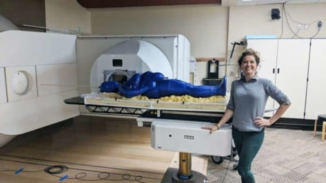 Featured image of LSU Student 3D Prints Full Size Human Phantom for Testing Radiation Therapy