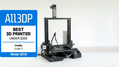 Featured image of 2019 Creality Ender 3 im Test – Der beste 3D-Drucker unter 200€