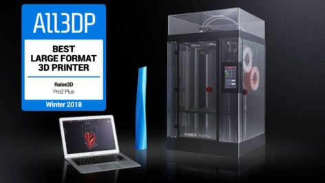Featured image of Raise3D Pro 2 Plus Review – Best Large-Format 3D Printer 2019