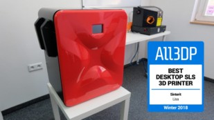 Featured image of 2019 Sinterit Lisa Review – Best Desktop SLS 3D Printer