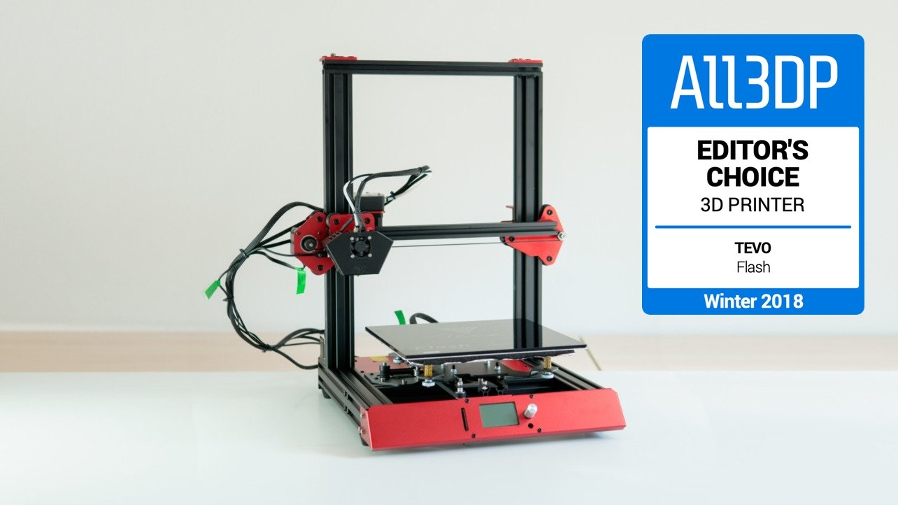 Featured image of 2019 TEVO Flash 3D Printer Review – Editor's Choice
