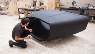 Featured image of World's First 3D Printed Sailboat Hull Ready for Mini Transat Ocean Race 2019