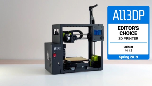 Featured image of LulzBot Mini 2 Review – Editor's Choice of Spring 2019