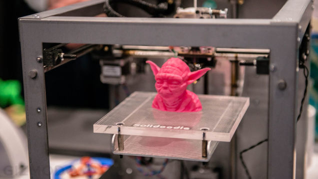 What does the law say about reproducing licensed characters with 3D printing?