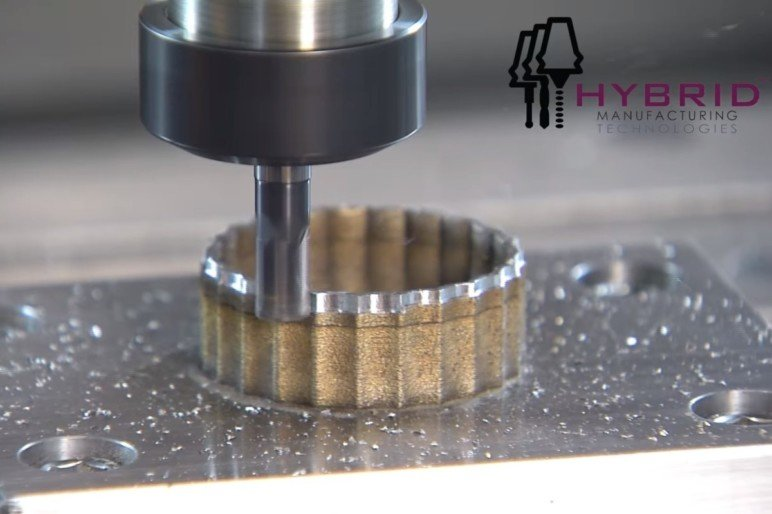 Integrated additive and manufacturing technologies.