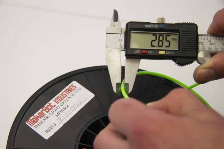 Checking your filament diameter.