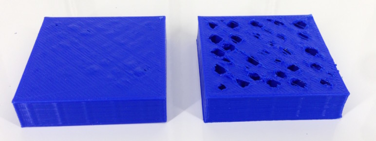 The same model with cooling (left) and without (right).
