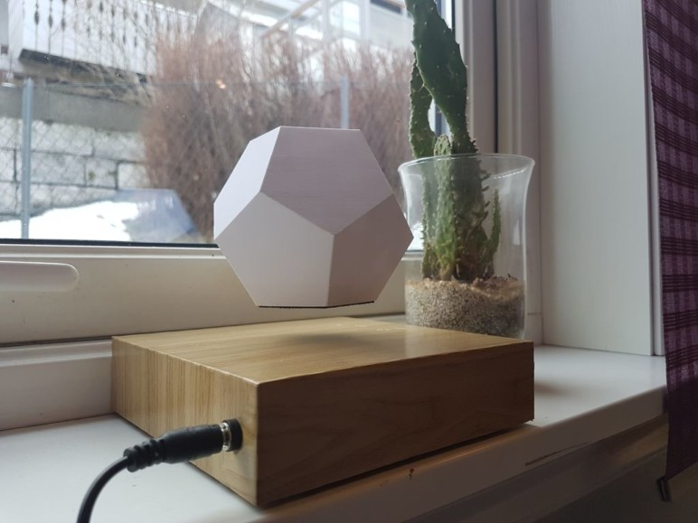 Image of Weekend Project: 3D Printed Levitating Plant: What You Need & How to Build it