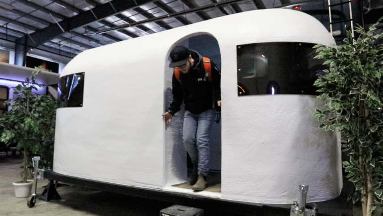 The world's first 3D printed camper.