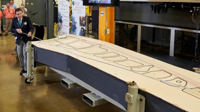 17.5 ft of carbon-fiber-reinforced ABS.