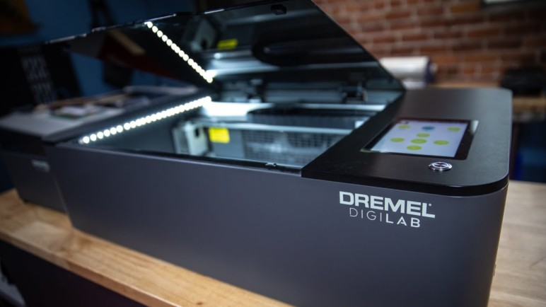 Image of Laser Cutter/Engraver & AIO Machine Buyer's Guide: Dremel Digilab LC40 Laser Cutter & Engraver