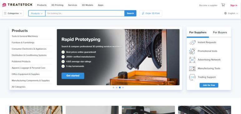 Image of Servicio de impresión 3D: Treatstock