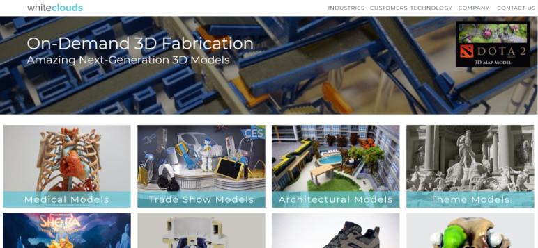 Image of Servicio de impresión 3D: WhiteClouds