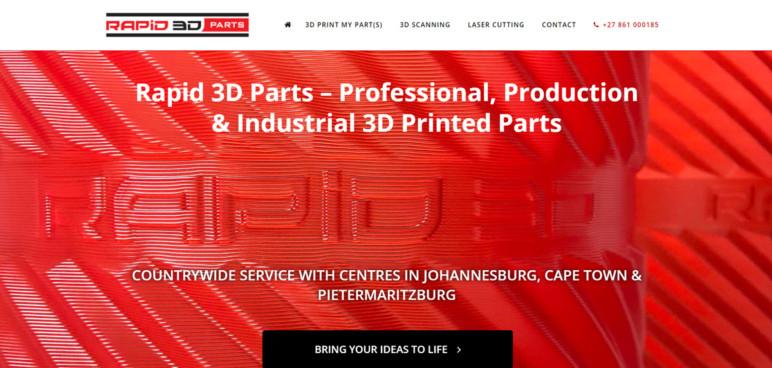 Image of Servicio de impresión 3D: Rapid3DParts