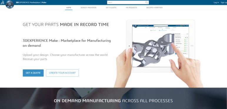 Image of Servicio de impresión 3D: 3DExperience Marketplace | Make